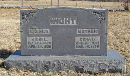 WIGHT, CORA B - Benton County, Arkansas | CORA B WIGHT - Arkansas Gravestone Photos
