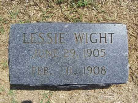 WIGHT, LESSIE - Benton County, Arkansas | LESSIE WIGHT - Arkansas Gravestone Photos