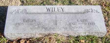 WILEY, EVELYN - Benton County, Arkansas | EVELYN WILEY - Arkansas Gravestone Photos