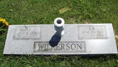 WILKERSON, A. B. - Benton County, Arkansas | A. B. WILKERSON - Arkansas Gravestone Photos