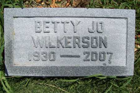 WILKERSON, BETTY JO - Benton County, Arkansas | BETTY JO WILKERSON - Arkansas Gravestone Photos
