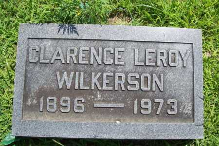 WILKERSON, CLARENCE LEROY - Benton County, Arkansas | CLARENCE LEROY WILKERSON - Arkansas Gravestone Photos
