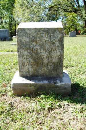 WILKERSON, SUSIE - Benton County, Arkansas | SUSIE WILKERSON - Arkansas Gravestone Photos