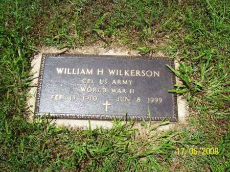 WILKERSON (VETERAN WWII), WILLIAM H. - Benton County, Arkansas | WILLIAM H. WILKERSON (VETERAN WWII) - Arkansas Gravestone Photos