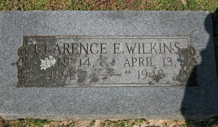 WILKINS, CLARENCE E - Benton County, Arkansas   CLARENCE E WILKINS - Arkansas Gravestone Photos
