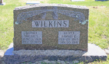 WILKINS, SAMUEL E. - Benton County, Arkansas | SAMUEL E. WILKINS - Arkansas Gravestone Photos