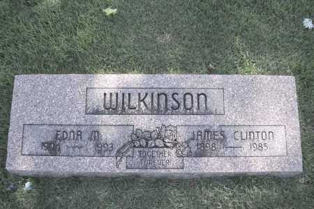 WILKINSON, JAMES CLINTON - Benton County, Arkansas | JAMES CLINTON WILKINSON - Arkansas Gravestone Photos