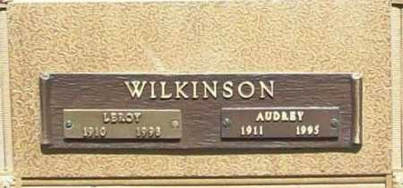 WILKINSON, AUDREY - Benton County, Arkansas | AUDREY WILKINSON - Arkansas Gravestone Photos