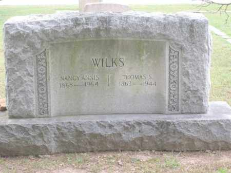 WILKS, NANCY ANNIS - Benton County, Arkansas | NANCY ANNIS WILKS - Arkansas Gravestone Photos