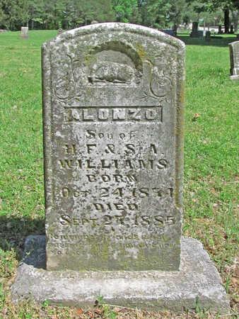 WILLIAMS, ALONZO - Benton County, Arkansas | ALONZO WILLIAMS - Arkansas Gravestone Photos