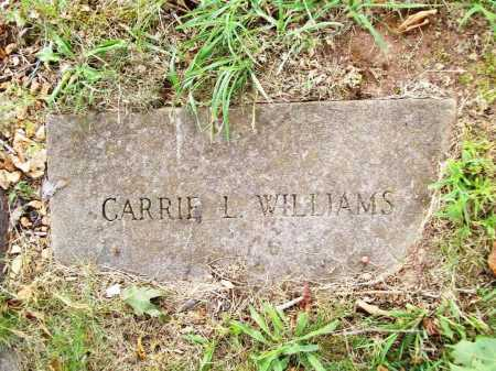 WILLIAMS, CARRIE L. - Benton County, Arkansas | CARRIE L. WILLIAMS - Arkansas Gravestone Photos