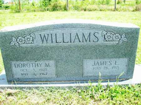 WILLIAMS, DOROTHY M. - Benton County, Arkansas | DOROTHY M. WILLIAMS - Arkansas Gravestone Photos