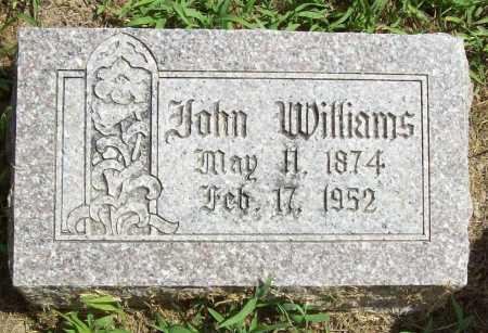 WILLIAMS, JOHN - Benton County, Arkansas   JOHN WILLIAMS - Arkansas Gravestone Photos