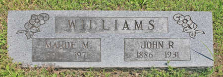 WILLIAMS, JOHN R - Benton County, Arkansas | JOHN R WILLIAMS - Arkansas Gravestone Photos