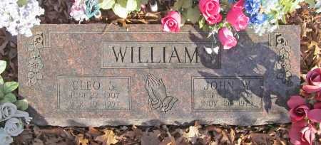 WILLIAMS, JOHN W. - Benton County, Arkansas | JOHN W. WILLIAMS - Arkansas Gravestone Photos