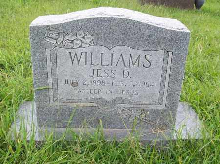 WILLIAMS, JESS D. - Benton County, Arkansas | JESS D. WILLIAMS - Arkansas Gravestone Photos