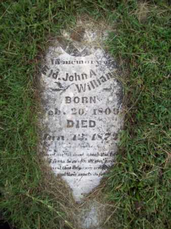 WILLIAMS, JOHN A (ELDER) - Benton County, Arkansas | JOHN A (ELDER) WILLIAMS - Arkansas Gravestone Photos
