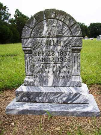 WILLIAMS, JOHN - Benton County, Arkansas | JOHN WILLIAMS - Arkansas Gravestone Photos