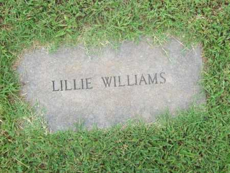 WILLIAMS, LILLIE - Benton County, Arkansas | LILLIE WILLIAMS - Arkansas Gravestone Photos