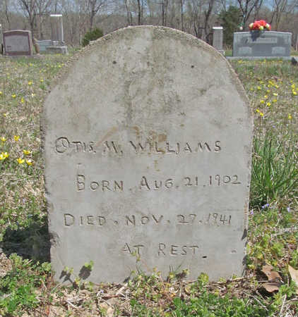 WILLIAMS, OTIS M - Benton County, Arkansas | OTIS M WILLIAMS - Arkansas Gravestone Photos