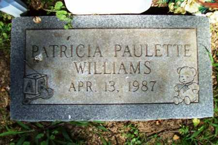 WILLIAMS, PATRICIA PAULETTE - Benton County, Arkansas | PATRICIA PAULETTE WILLIAMS - Arkansas Gravestone Photos