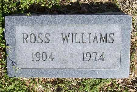 WILLIAMS, ROSS - Benton County, Arkansas | ROSS WILLIAMS - Arkansas Gravestone Photos