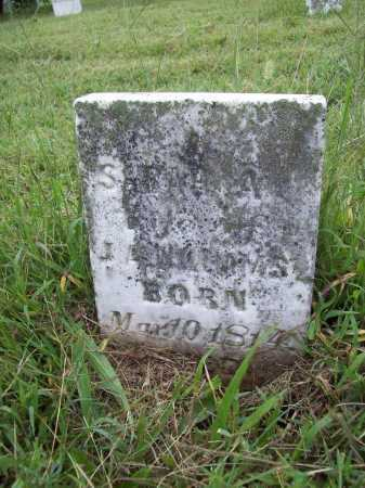 WILLIAMS, SARAH A. - Benton County, Arkansas | SARAH A. WILLIAMS - Arkansas Gravestone Photos