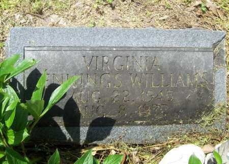 WILLIAMS, VIRGINIA - Benton County, Arkansas | VIRGINIA WILLIAMS - Arkansas Gravestone Photos
