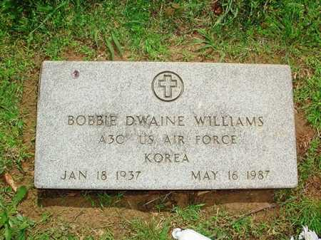 WILLIAMS (VETERAN KOR), BOBBIE DWAINE - Benton County, Arkansas | BOBBIE DWAINE WILLIAMS (VETERAN KOR) - Arkansas Gravestone Photos