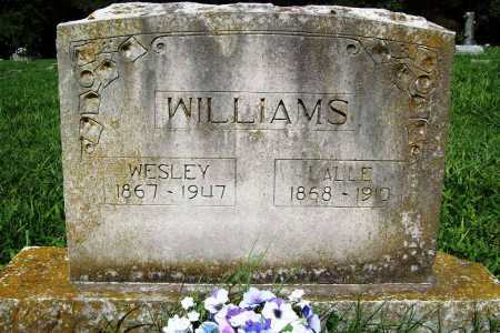 WILLIAMS, LALLE - Benton County, Arkansas | LALLE WILLIAMS - Arkansas Gravestone Photos