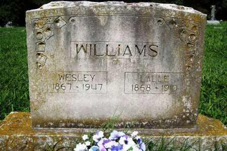 WILLIAMS, WESLEY - Benton County, Arkansas | WESLEY WILLIAMS - Arkansas Gravestone Photos
