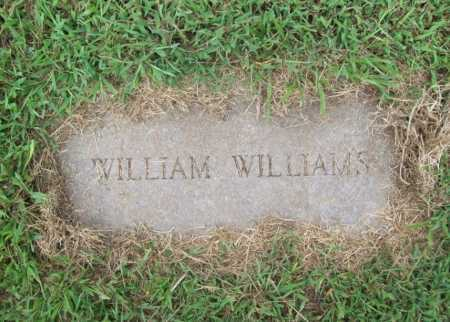 WILLIAMS, WILLIAM - Benton County, Arkansas | WILLIAM WILLIAMS - Arkansas Gravestone Photos