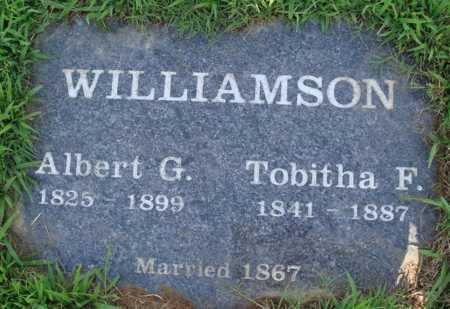 WILLIAMSON, TOBITHA F. - Benton County, Arkansas | TOBITHA F. WILLIAMSON - Arkansas Gravestone Photos