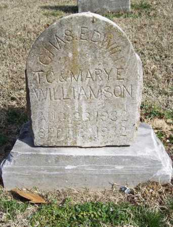 WILLIAMSON, CHARLES EDWIN - Benton County, Arkansas | CHARLES EDWIN WILLIAMSON - Arkansas Gravestone Photos