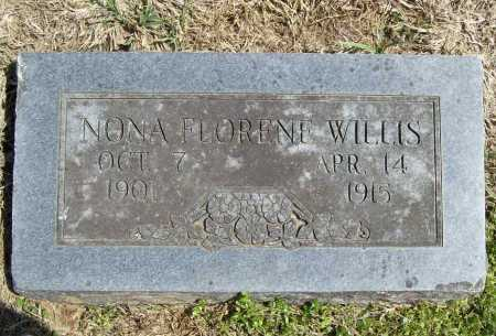 WILLIS, NONA FLORENE - Benton County, Arkansas | NONA FLORENE WILLIS - Arkansas Gravestone Photos