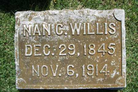 WILLIS, NAN C. - Benton County, Arkansas | NAN C. WILLIS - Arkansas Gravestone Photos