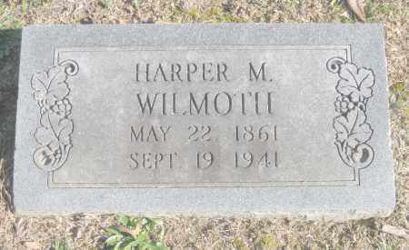 WILMOTH, HARPER M. - Benton County, Arkansas | HARPER M. WILMOTH - Arkansas Gravestone Photos