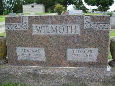 WILMOTH, ADA MAE - Benton County, Arkansas | ADA MAE WILMOTH - Arkansas Gravestone Photos