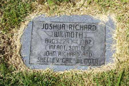 WILMOTH, JOSHUA RICHARD - Benton County, Arkansas | JOSHUA RICHARD WILMOTH - Arkansas Gravestone Photos