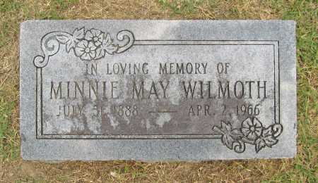 WILMOTH, MINNIE MAY - Benton County, Arkansas | MINNIE MAY WILMOTH - Arkansas Gravestone Photos
