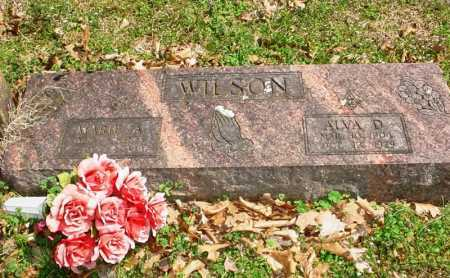 WILSON, ALVA D. - Benton County, Arkansas | ALVA D. WILSON - Arkansas Gravestone Photos