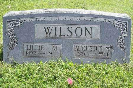 WILSON, LILLIE M. - Benton County, Arkansas | LILLIE M. WILSON - Arkansas Gravestone Photos