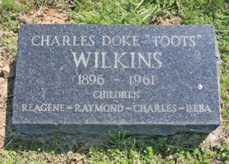 "WILSON, CHARLES DOKE ""TOOTS"" - Benton County, Arkansas | CHARLES DOKE ""TOOTS"" WILSON - Arkansas Gravestone Photos"