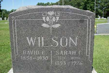 "WILSON, SARAH C. ""SALLIE"" - Benton County, Arkansas 