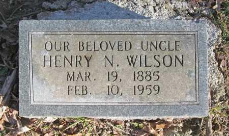 WILSON, HENRY N - Benton County, Arkansas | HENRY N WILSON - Arkansas Gravestone Photos