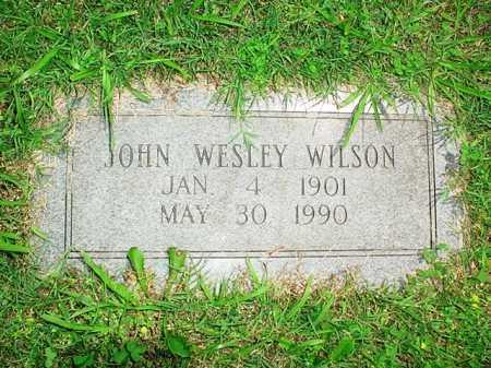 WILSON, JOHN WESLEY - Benton County, Arkansas | JOHN WESLEY WILSON - Arkansas Gravestone Photos