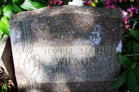 WILSON, JEWELL MARIE - Benton County, Arkansas | JEWELL MARIE WILSON - Arkansas Gravestone Photos