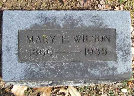 WILSON, MARY E. - Benton County, Arkansas | MARY E. WILSON - Arkansas Gravestone Photos