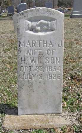 WILLIAMS WILSON, MARTHA J. - Benton County, Arkansas | MARTHA J. WILLIAMS WILSON - Arkansas Gravestone Photos
