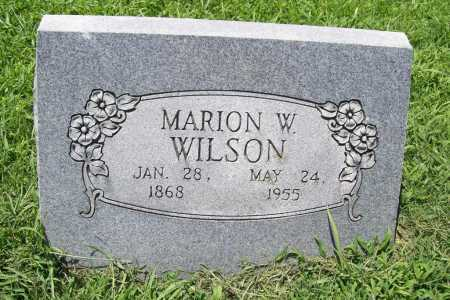 WILSON, MARION W. - Benton County, Arkansas | MARION W. WILSON - Arkansas Gravestone Photos